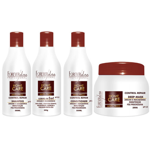 Kit Home Care Pós Progressiva Forever Liss 6