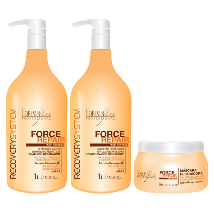 Kit Force Repair Reparador Forever Liss 1