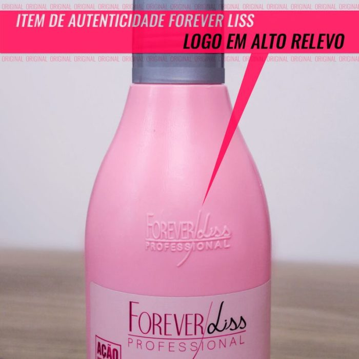 Kit Desmaia Cabelo Completo Forever Liss 3