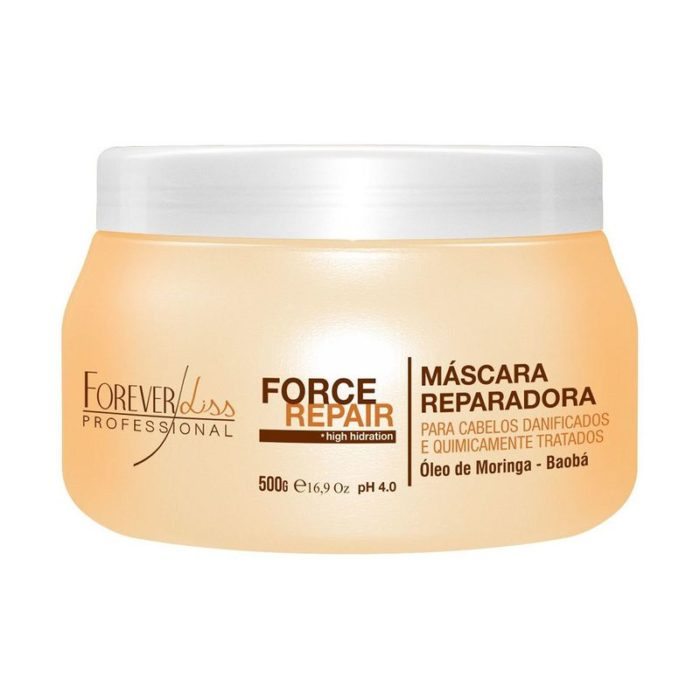 Máscara Force Repair Forever Liss 500g 1