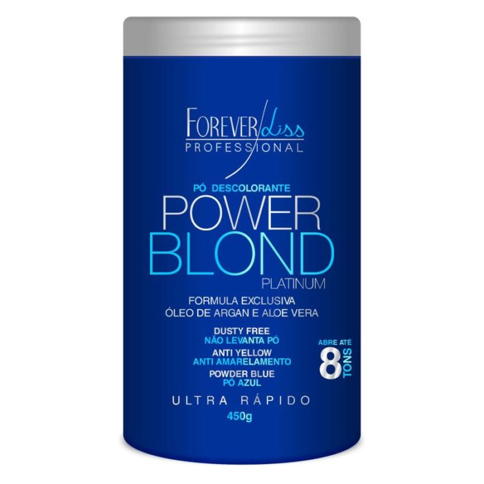 Pó Descolorante Power Blond Forever Liss 450g 1
