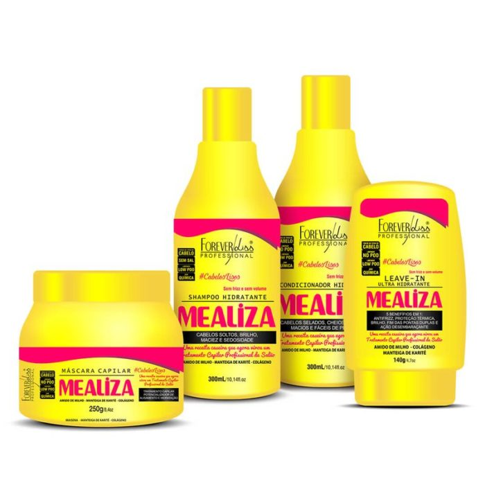 Kit Completo MeAliza Forever Liss 1