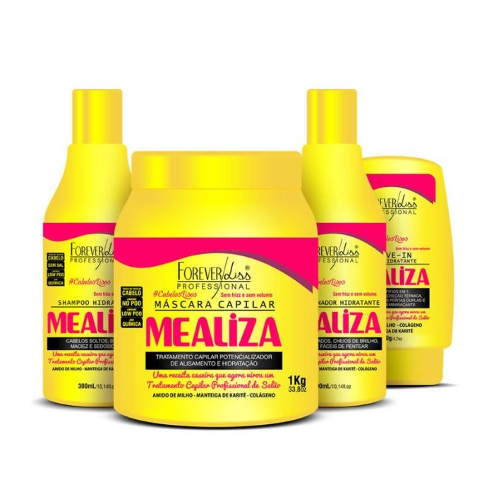 Kit Completo Profissional MeAliza Forever Liss 1