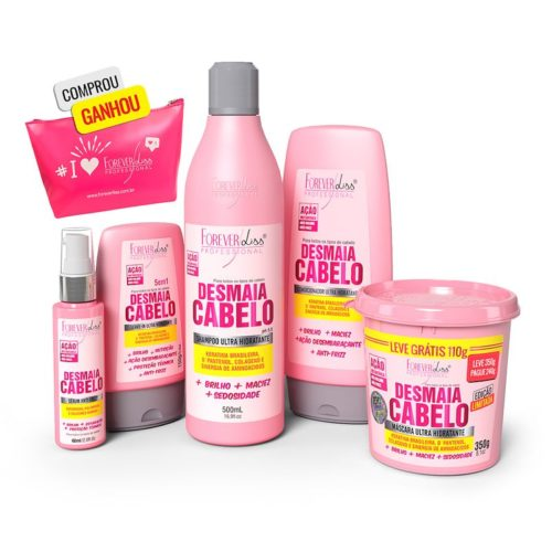 Kit Desmaia Cabelo Completo Forever Liss 5