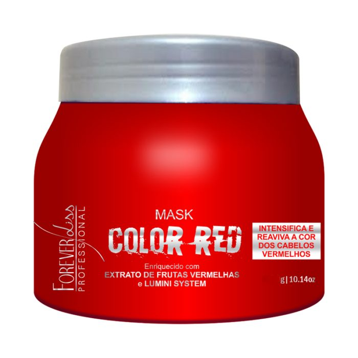 Máscara Tonalizante Color Red Forever Liss 250g 1