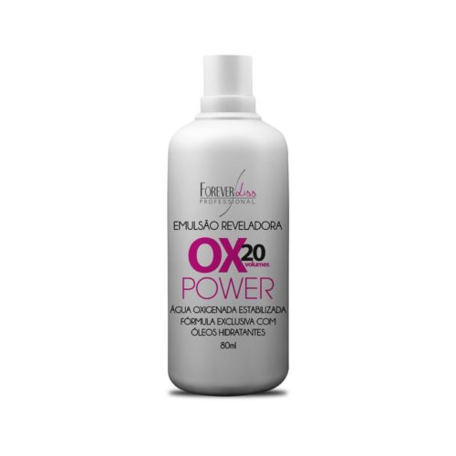 Água Oxigenada 20 Volumes Power Forever Liss 80ml 1