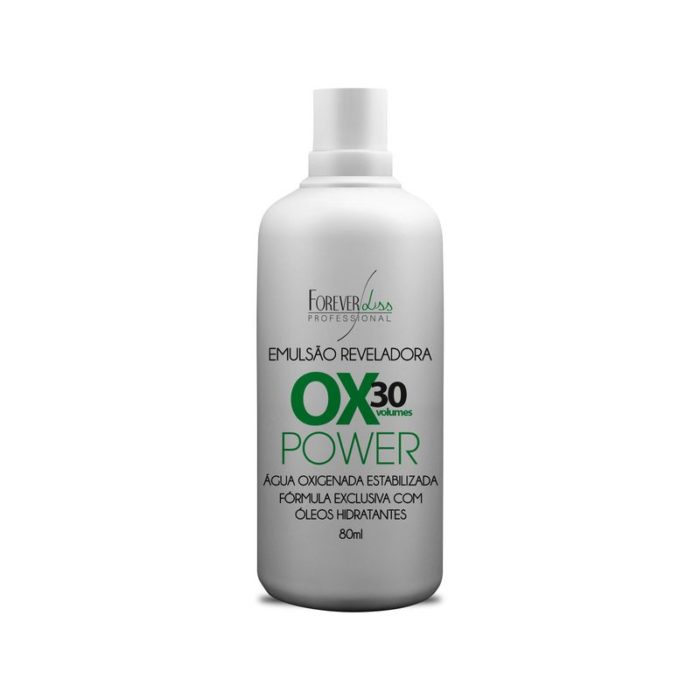 Água Oxigenada 30 Volumes Power Forever Liss 80ml 1