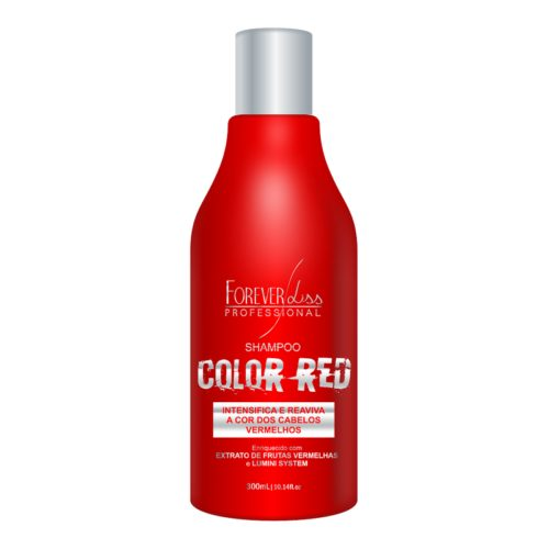 Shampoo Color Red Forever Liss 300ml 4